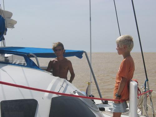 09 Arrivée sur le fleuve Sénégal